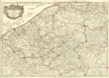 Le Comté de Flandres divisé en ses Chastellenies, Balliages, &c.