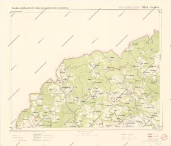 Soubor přehledných map pro plánování a statistiku: 3849 – Kraslice