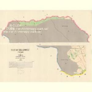Trtschkadorf (Trčkow) - c7956-1-001 - Kaiserpflichtexemplar der Landkarten des stabilen Katasters