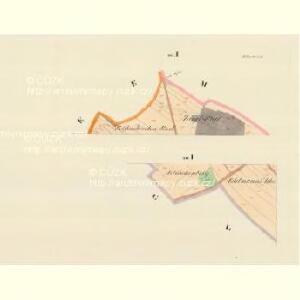 Hliwitz (Hllawice) - m0713-1-003 - Kaiserpflichtexemplar der Landkarten des stabilen Katasters