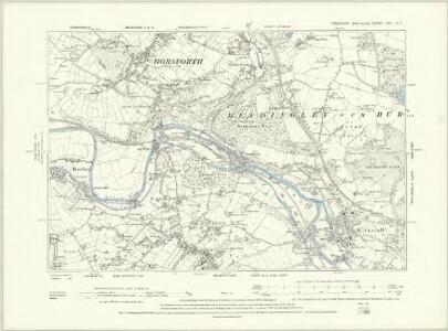 Yorkshire CCI.SE - OS Six-Inch Map