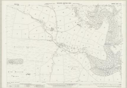 Somerset LVI.8 (includes: Winsford; Withypool) - 25 Inch Map