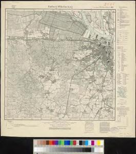 Meßtischblatt 1121 : Harburg- Wilhelmsburg, 1934