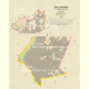 Jogsdorf (Jakubczowice) - m1016-1-001 - Kaiserpflichtexemplar der Landkarten des stabilen Katasters