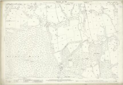 Sussex XXII.1 (includes: Fernhurst; Lodsworth; North Ambersham) - 25 Inch Map