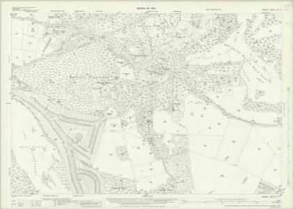 Surrey XIV.15 (includes: Croydon St John The Baptist; Sanderstead) - 25 Inch Map