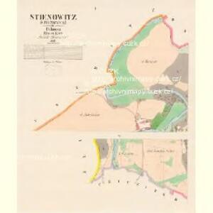 Stienowitz (Stienowce) - c7770-1-001 - Kaiserpflichtexemplar der Landkarten des stabilen Katasters