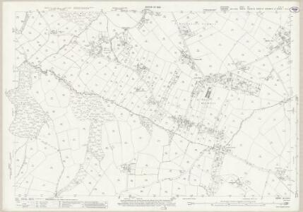 Derbyshire XII.6 & 5 (includes: Beighton; Eckington; Sheffield) - 25 Inch Map