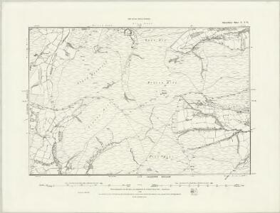 Radnorshire X.SE - OS Six-Inch Map