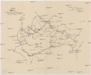 Skizze der Bewegungen der deutschen und französischen Armeen vom 7. bis 14. August