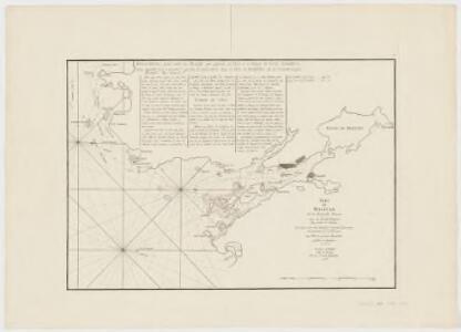 Port de Halifax de la Nouvelle Ecosse : avec les recifs, dangers, bas fonds et sondes