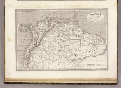 Colombia et Guyanes.