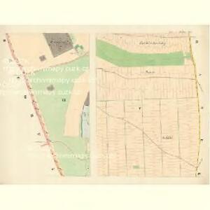 Zischkow (Zischkowe) - m1882-1-005 - Kaiserpflichtexemplar der Landkarten des stabilen Katasters