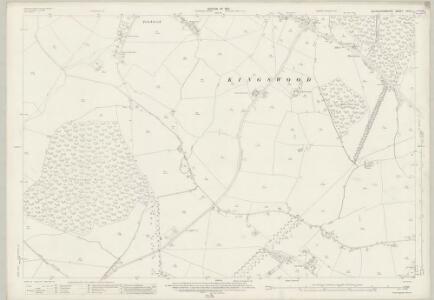 Buckinghamshire XXVII.2 (includes: Grendon Underwood; Kingswood; Ludgershall; Woodham; Wotton Underwood) - 25 Inch Map