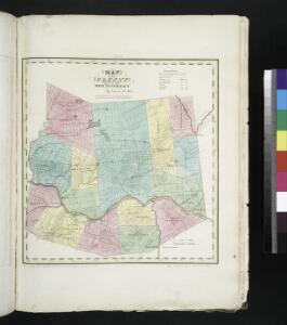 Map of the county of Montgomery / by David H. Burr ; engd. by Rawdon, Clark & Co., Alby., & Rawdon, Wright & Co., N. York.