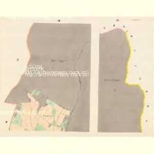 Glasdörf (Sklena Wes) - m2733-1-003 - Kaiserpflichtexemplar der Landkarten des stabilen Katasters