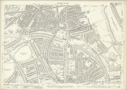 Essex (New Series 1913-) n LXXVII.11 (includes: Hackney; Stoke Newington; Tottenham) - 25 Inch Map