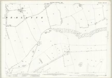 Wiltshire LXV.15 (includes: Barford St Martin; Broad Chalke; Burcombe Without; Compton Chamberlayne) - 25 Inch Map
