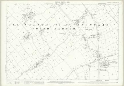 Suffolk XVII.15 (includes: Rumburgh; South Elmham All Saints and St Nicholas; South Elmham St James; South Elmham St Michael) - 25 Inch Map