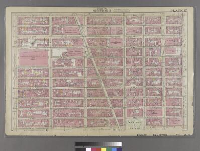 [Plate 17: Bounded by W. 36th Street, E. 26th Street, Lexington Avenue, E. 25th Street, Madison Avenue, E. 26th Street, and Eighth Avenue.]