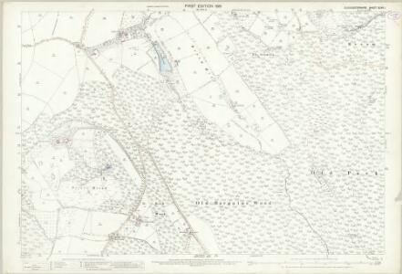 Gloucestershire XLVII.1 (includes: Alvington; Aylburton; Lydney; St Briavels; West Dean) - 25 Inch Map