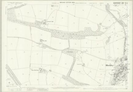 Gloucestershire XIV.8 (includes: Blockley; Chipping Campden) - 25 Inch Map