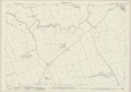 Yorkshire CVIII.6 (includes: Allerston; Heslerton; Scampston; Yedingham) - 25 Inch Map