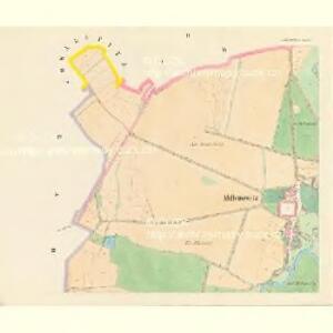 Millenowitz (Millenowice) - c4648-1-002 - Kaiserpflichtexemplar der Landkarten des stabilen Katasters