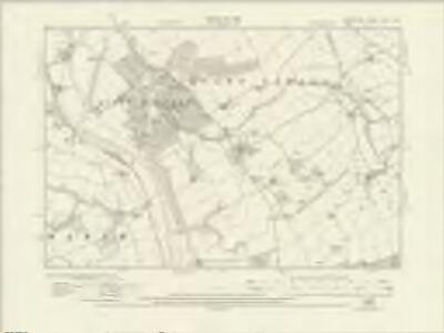 Shropshire LXVII.NW - OS Six-Inch Map