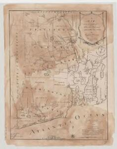 A map of the state of Rhode Island / taken mainly from surveys by Caleb Harris ; Harding Harris, delineavt. ; Saml. Hill, sculpt