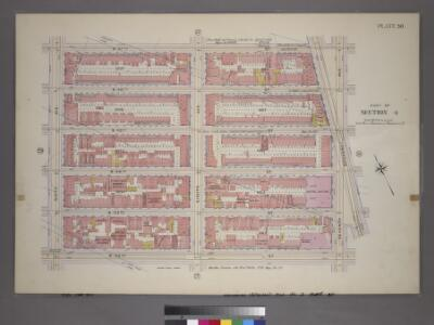 Plate 30, Part of Section 4: [Bounded by W. 47th Street, Seventh Avenue, W. 42nd Street and Ninth Avenue.]