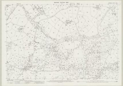 Cornwall LXIX.7 (includes: Crowan; Gwinear Gwithian; Hayle) - 25 Inch Map