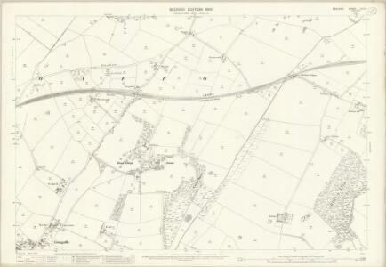 Anglesey XXII.3 (includes: Llanfihangel Ysgeifiog; Llangaffo; Llanidan) - 25 Inch Map