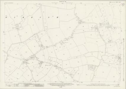 Essex (New Series 1913-) n XIV.6 (includes: Wimbish) - 25 Inch Map