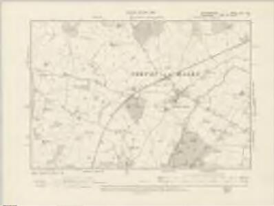 Staffordshire XXII.NW - OS Six-Inch Map