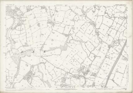 Cheshire XXVIII.1 (includes: Wilmslow) - 25 Inch Map
