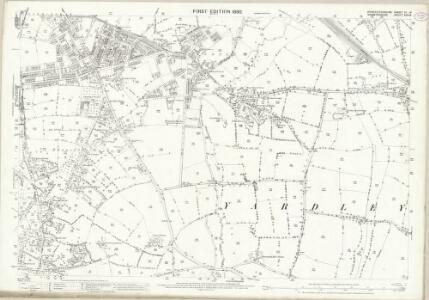 Worcestershire VI.14 (includes: Birmingham) - 25 Inch Map