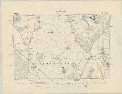 Bedfordshire XXIV.SW - OS Six-Inch Map