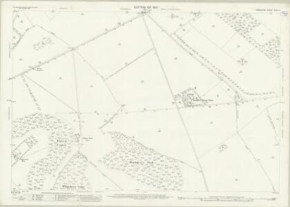 Hampshire and Isle of Wight XXXII.14 (includes: Chilbolton; Crawley; Leckford; Little Somborne) - 25 Inch Map