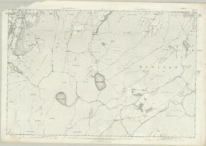 Denbighshire XVII - OS Six-Inch Map
