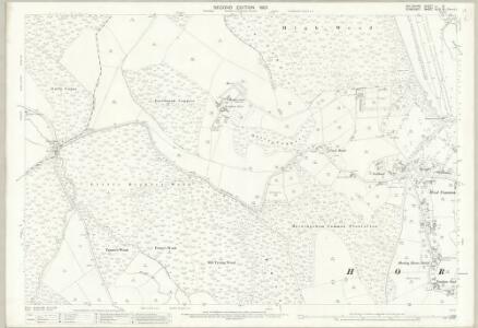 Wiltshire LI.13 (includes: Horningsham; Maiden Bradley with Yarnfield; Selwood) - 25 Inch Map
