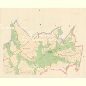 Polom - c5997-1-002 - Kaiserpflichtexemplar der Landkarten des stabilen Katasters