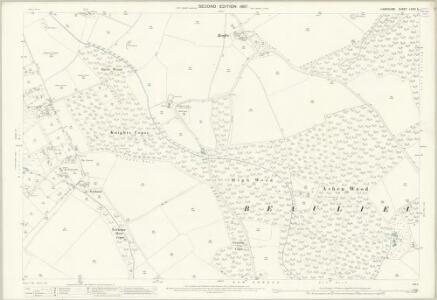 Hampshire and Isle of Wight LXXXI.5 (includes: Beaulieu; East Boldre) - 25 Inch Map