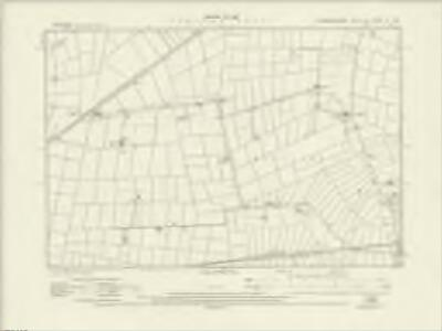 Cambridgeshire XI.SE - OS Six-Inch Map
