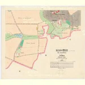 Kloster (Klasster) - c3126-1-005 - Kaiserpflichtexemplar der Landkarten des stabilen Katasters