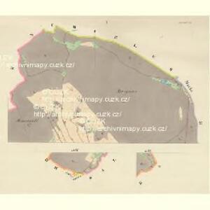 Möhrdörfel (Miruweczek) - m1816-1-001 - Kaiserpflichtexemplar der Landkarten des stabilen Katasters