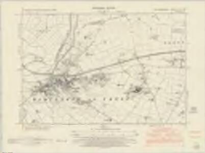 Nottinghamshire XLIII.NW - OS Six-Inch Map