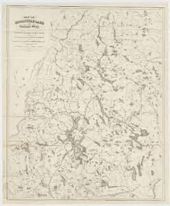 Map of Moosehead Lake and northern Maine : embracing the headwaters of the Penobscot, Kennebec and St. John rivers, specially adapted to the uses of sportsmen and lumbermen