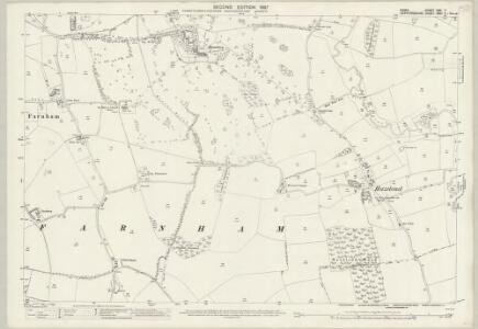 Essex (1st Ed/Rev 1862-96) XXII.7 (includes: Farnham; Manuden; Stanstead Mountfitchet) - 25 Inch Map