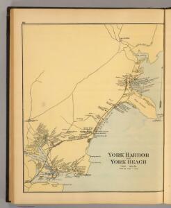 York Harbor, York Beach.